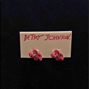 Betsy Johnson Crawfish Earrings